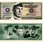 spock dollar bill